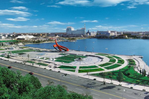 新湖风景区改造提升工程