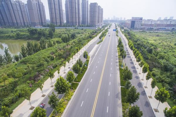 5号线建设项目道路及绿化工程(长河大道一广川大道)
