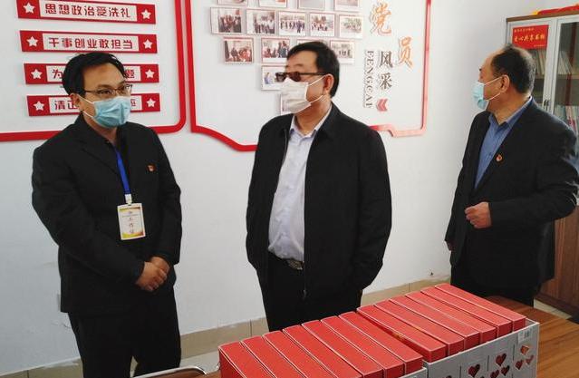 市委副书记、市长杨洪涛到北园小区调研老旧小区改造工作