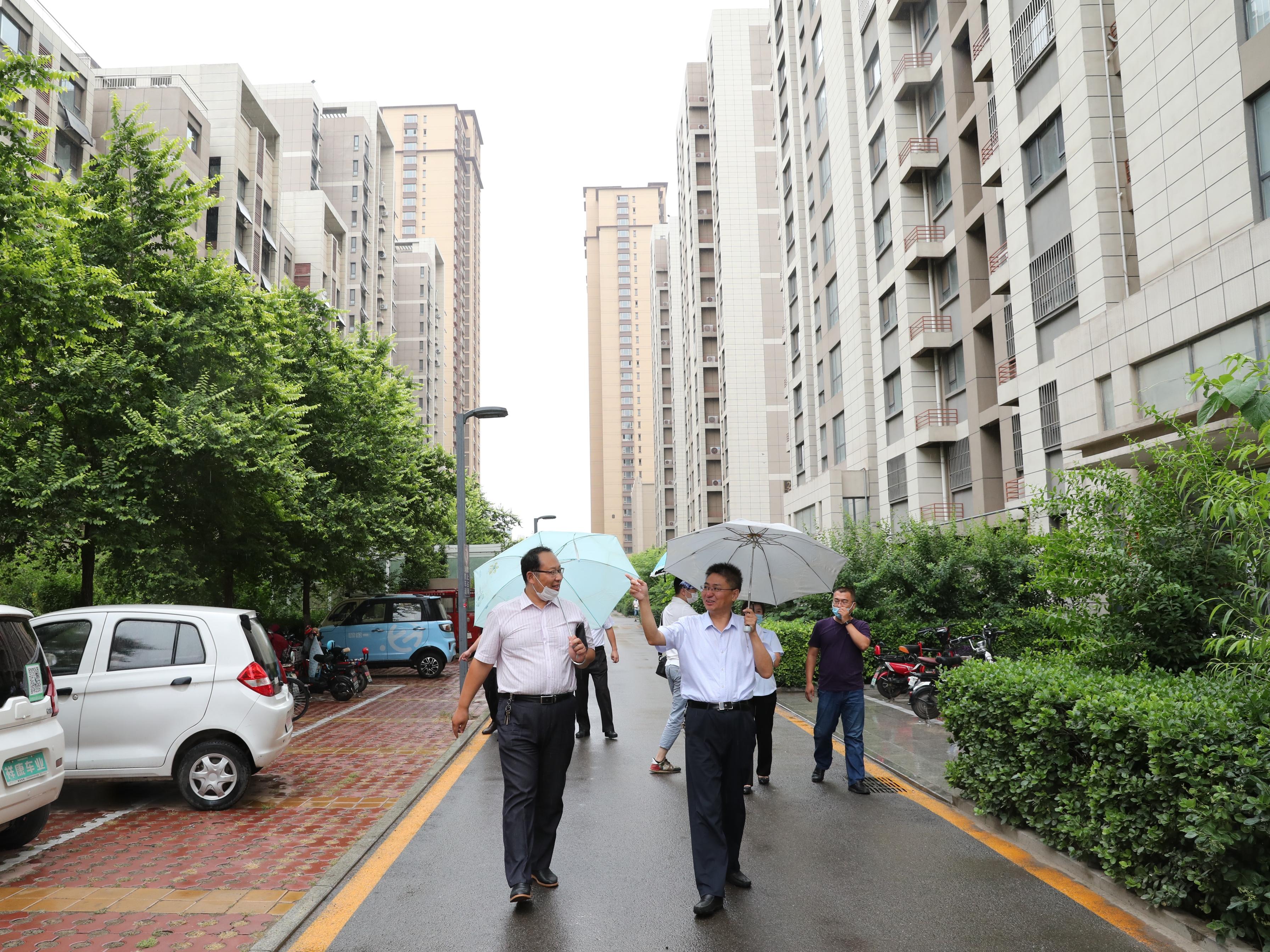 城投集团开展物业领域专项整治观摩活动