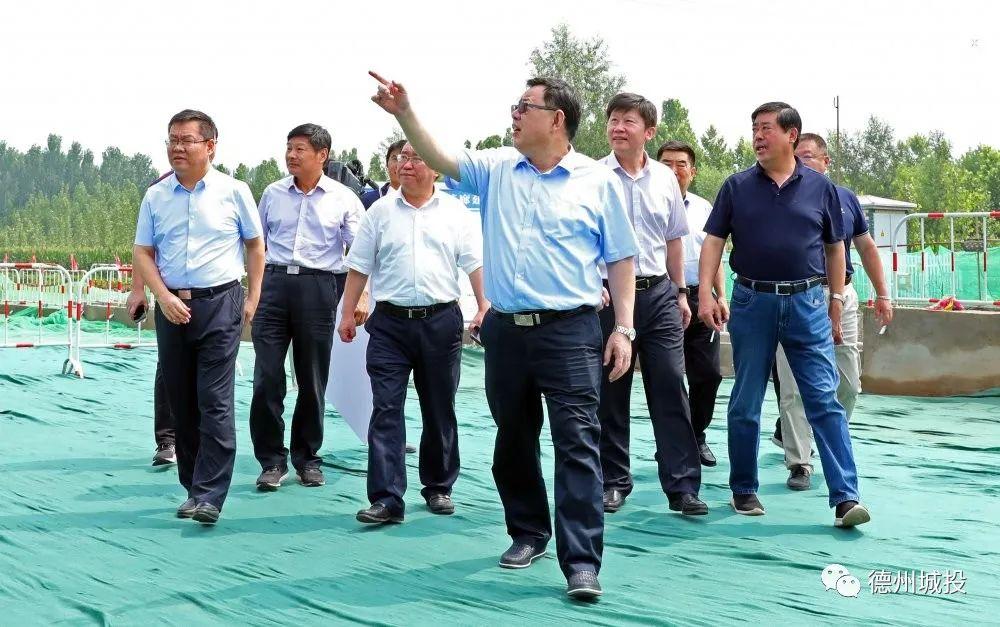 杨洪涛调研城投集团重点城建项目