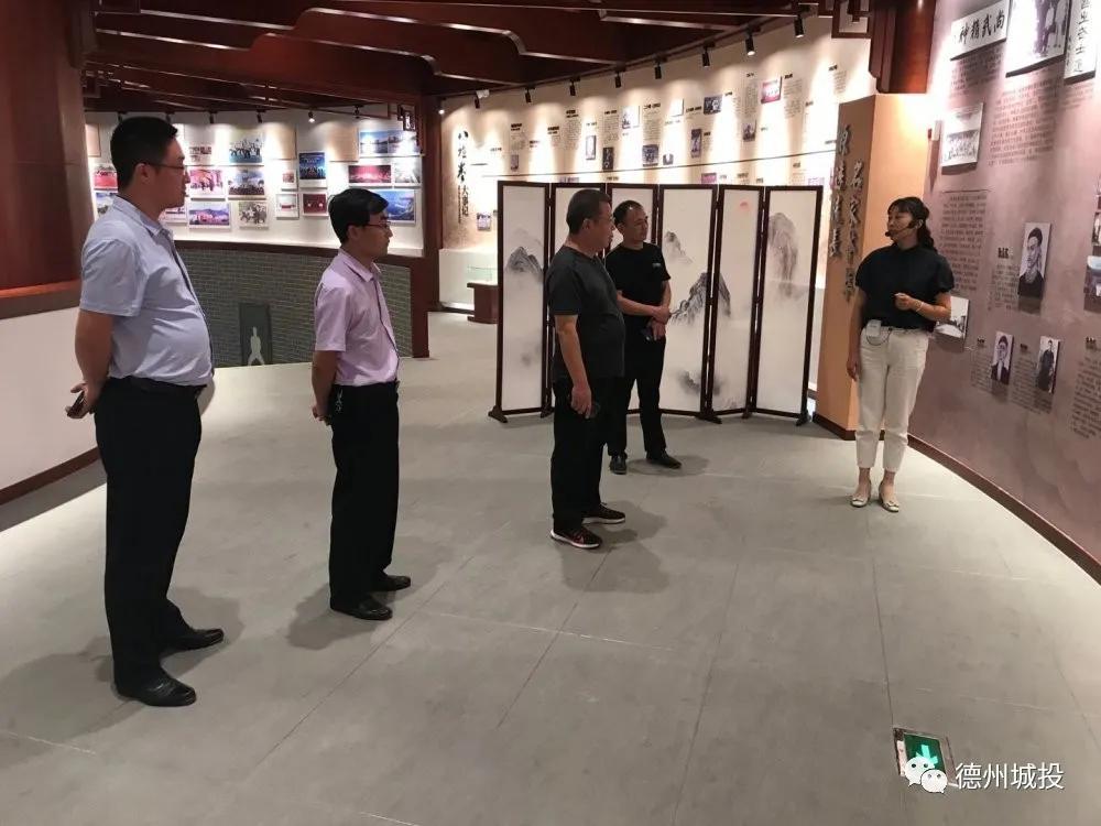 体育产业公司到宁津、乐陵、庆云考察学习
