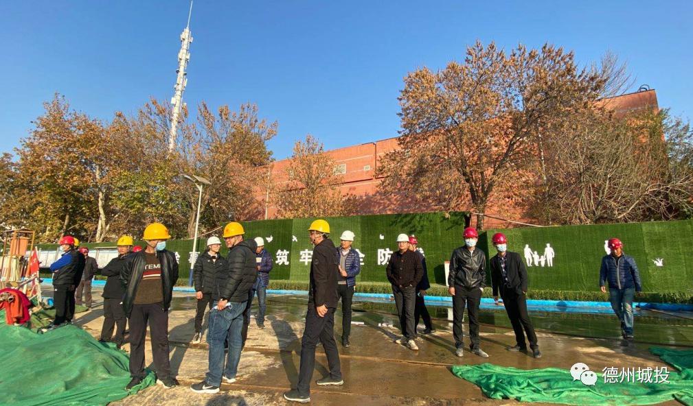 建绿色示范工地,展国企责任担当——主管部门点赞明德里项目扬尘治理工作